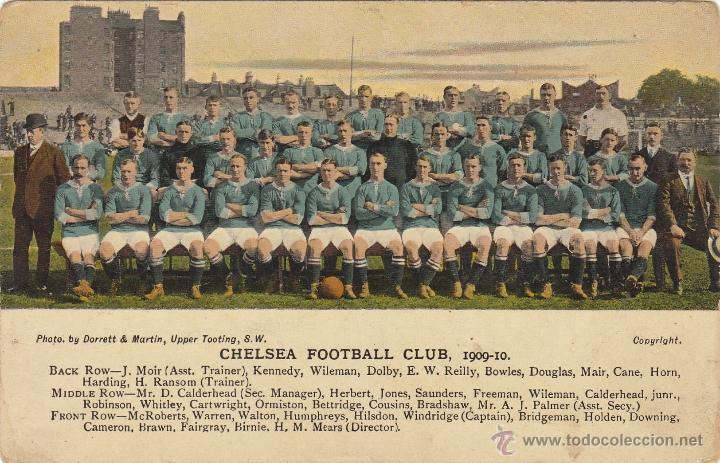Postal chelsea football club.temp.1909/10.muy a - Sold through ...