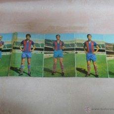 Coleccionismo deportivo: POSTALES F.C. BARCELONA TEMPORADA 1970-71 FOTO SEGUI 7 POSTALES. Lote 48563744