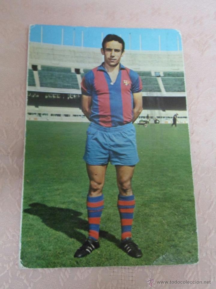 Coleccionismo deportivo: POSTALES F.C. BARCELONA TEMPORADA 1970-71 FOTO SEGUI 7 POSTALES - Foto 2 - 48563744