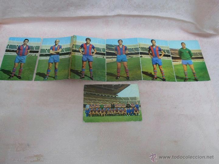 Coleccionismo deportivo: POSTALES F.C. BARCELONA TEMPORADA 1970-71 FOTO SEGUI 7 POSTALES - Foto 4 - 48563744
