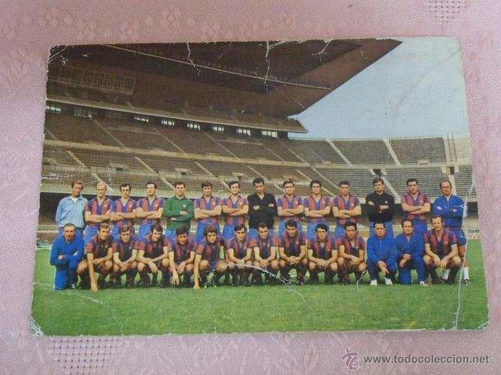 Coleccionismo deportivo: POSTALES F.C. BARCELONA TEMPORADA 1970-71 FOTO SEGUI 7 POSTALES - Foto 6 - 48563744