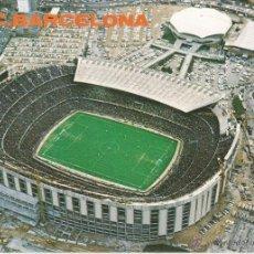 Coleccionismo deportivo: POSTAL GRAN TAMAÑO FC BARCELONA ESTADIO CAMP NOU B.100.187 XXII KOLORHAM A.CAMPAÑA 21 X 15 SIN CIRCU. Lote 48601126