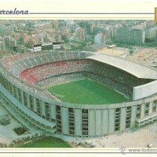 Coleccionismo deportivo: F.C. BARCELONA: POSTAL CAMP NOU. ESCUDO DE ORO. BARÇA.. Lote 48673117