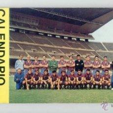 Coleccionismo deportivo: CALENDARIO FUTBOL 1971. 14 POSTALES JUGADORES. FC BARCELONA. BARÇA. 24,5 X 10 CM. POSTAL. COMPLETO.. Lote 48773252