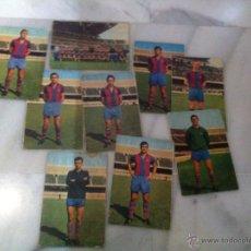 Coleccionismo deportivo: LOTE 9 POSTALES C.F BARCELONA TENPORADA 1970-1971 . Lote 48872580