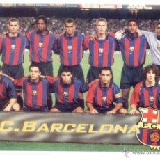Coleccionismo deportivo: POSTAL FC BARCELONA. PLANTILLA. EQUIPO. BARÇA. NUEVA SIN USO.. Lote 48926388