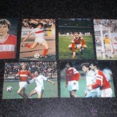 Coleccionismo deportivo: LOTE 6 POSTALES ORIGINALES SPARTAK MOSCÚ (URSS). Lote 49014291