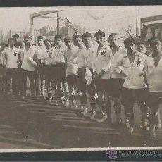 Coleccionismo deportivo: POSTAL EQUIPO FUTBOL - COMPAÑÍA DE LOS CAMINOS DE HIERRO DEL NORTE DE ESPAÑA ???- (CD-1518). Lote 49304729