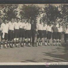 Coleccionismo deportivo: POSTAL EQUIPO FUTBOL - FOTO SOLANES - (CD-1519). Lote 49304745