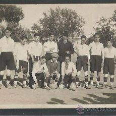 Coleccionismo deportivo: POSTAL EQUIPO FUTBOL - FOTO SOLANES - (CD-1520). Lote 49304757