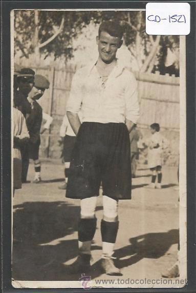 POSTAL JUGADOR FUTBOL - FOTO SOLANES - (CD-1521) (Coleccionismo Deportivo - Postales de Deportes - Fútbol)