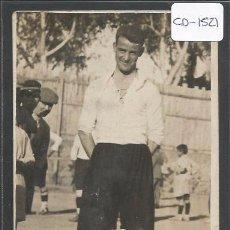 Coleccionismo deportivo: POSTAL JUGADOR FUTBOL - FOTO SOLANES - (CD-1521). Lote 49304834