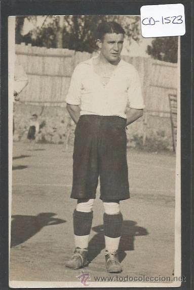 POSTAL JUGADOR FUTBOL - FOTO SOLANES - (CD-1523) (Coleccionismo Deportivo - Postales de Deportes - Fútbol)