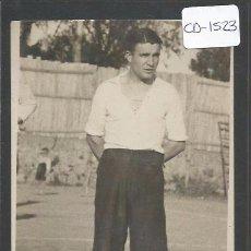 Coleccionismo deportivo: POSTAL JUGADOR FUTBOL - FOTO SOLANES - (CD-1523). Lote 49304850