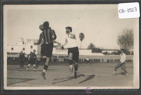 POSTAL JUGADA FUTBOL - FOTO ENRIQUE MIGUEL - (CD-1527) (Coleccionismo Deportivo - Postales de Deportes - Fútbol)