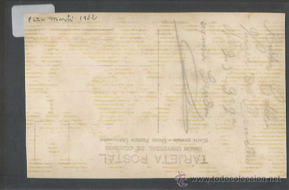 Coleccionismo deportivo: POSTAL EQUIPO FUTBOL - PEÑA MARTI 1932 - (CD-1528) - Foto 2 - 49304932