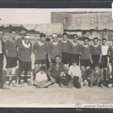 Coleccionismo deportivo: POSTAL EQUIPO FUTBOL - PEÑA CANALETAS 1933 - (CD-1529). Lote 49304948