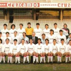 Coleccionismo deportivo: POSTAL GRAN TAMAÑO SEVILLA FC (TEMPORADA 88-89). Lote 49325896
