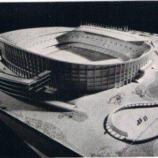 Coleccionismo deportivo: POSTAL Nº 4 MAQUETA NUEVO CAMPO CF BARCELONA. Lote 49568823