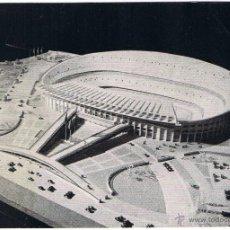 Coleccionismo deportivo: POSTAL Nº 2 MAQUETA NUEVO CAMPO CF BARCELONA. Lote 49568846
