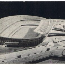 Coleccionismo deportivo: POSTAL Nº 1 MAQUETA NUEVO CAMPO CF BARCELONA. Lote 49568864