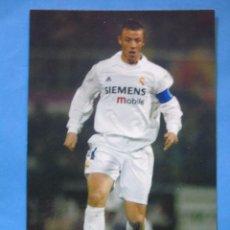 Coleccionismo deportivo: FOTO POSTAL. PRODUCTO OFICIAL REAL MADRID 2002 2003. 31 GUTI. Lote 49714396