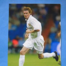 Coleccionismo deportivo: FOTO POSTAL. PRODUCTO OFICIAL REAL MADRID 2002 2003. 43 MCMANNAMAN. Lote 49714430
