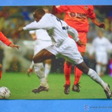 Coleccionismo deportivo: FOTO POSTAL. PRODUCTO OFICIAL REAL MADRID 2002 2003. 78 MAKELELE. Lote 49714494