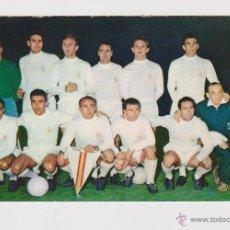 Coleccionismo deportivo: POSTAL ORIGINAL DE EPOCA (AÑOS 60) - REAL MADRID PENTACAMPEON COPA EUROPA CON DI STEFANO -. Lote 49867183