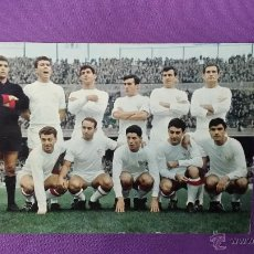 Coleccionismo deportivo: POSTAL SEVILLA FUTBOL CLUB Nº 109 - BERGAS - FOTO SEGUI - 1967. Lote 50371217