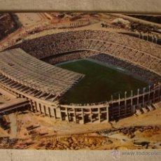 Coleccionismo deportivo: ANTIGUA POSTAL ORIGINAL AÑO 1962 CAMPO FUTBOL VISDTA AEREA ESTADIO C.F BARCELONA. Lote 50412456