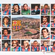 Coleccionismo deportivo: TARJETA POSTAL PLANTILLA JUGADORES F.C.BARCELONA, SIN CIRCULAR. Lote 50577697