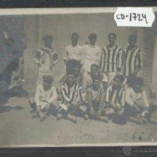 Coleccionismo deportivo: REAL SOCIEDAD GIMNASTICA ESPAÑOLA MADRID - TERCER EQUIPO 1912 - FOTOGRAFICA - (CD-1724). Lote 50942823