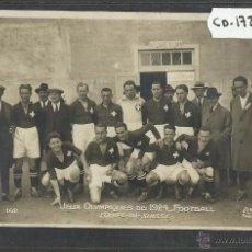 Coleccionismo deportivo: SELECCION DE SUIZA - JUEGOS OLIMPICOS - AÑO 1924 - FOTOGRAFICA - (CD-1726). Lote 50942863