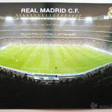 Coleccionismo deportivo: POSTAL FOTO REAL MADRID ESTADIO SANTIAGO BERNABEU STADIUM OFICIAL CUADRO 32 X 23. Lote 51195807