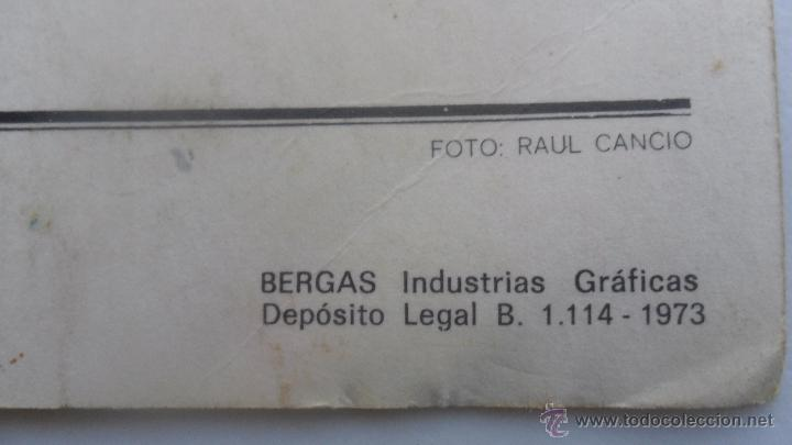 Coleccionismo deportivo: tarjeta postal real madrid plantilla temporada 72-73 tamaño 14,6cm x 20,08cm - Foto 6 - 51357670