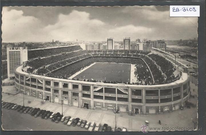 ESTADIO FUTBOL- MADRID 27 A BERNABEU - (ZB-3108) (Coleccionismo Deportivo - Postales de Deportes - Fútbol)