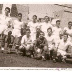 Coleccionismo deportivo: FÚTBOL. POSTAL FOTOGRÁFICA. ZONA DE VALENCIA. AÑOS 40. Lote 51652963