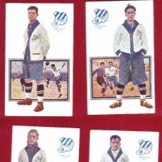 Coleccionismo deportivo: 9 POSTALES C.D. EUROPA JUGADORES DE FOOT-BALL EDICIONES AMATLLER.. Lote 51926332