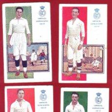 Coleccionismo deportivo: 5 POSTALES REAL MADRID JUGADORES DE FOOT-BALL EDICIONES AMATLLER.. Lote 51926362