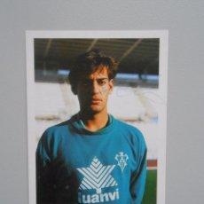 Coleccionismo deportivo: FOTO POSTAL JUGADOR ISMAEL URZAIZ. ALBACETE. FIRMADA. TDKP5. Lote 51934780