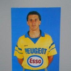 Coleccionismo deportivo: FOTO POSTAL JUGADOR FARUK HADZIBEGIC. SOCHAUX. FIRMADA. TDKP5. Lote 51944179