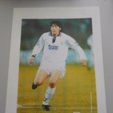 Coleccionismo deportivo: FOTO IVAN ZAMORANO. REAL MADRID. TDKP5. Lote 51950601