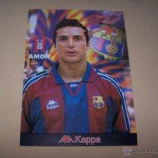 Coleccionismo deportivo: KAPPA-SPORT, F.C. BARCELONA 30 POR 21 CMS. AMOR.. Lote 52016012
