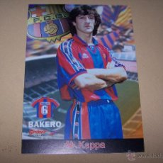 Coleccionismo deportivo: KAPPA-SPORT, F.C. BARCELONA 30 POR 21 CMS. BAKERO.. Lote 52016064