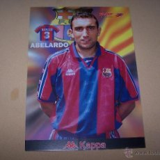 Coleccionismo deportivo: KAPPA-SPORT, F.C. BARCELONA 30 POR 21 CMS. ABELARDO.. Lote 52016210