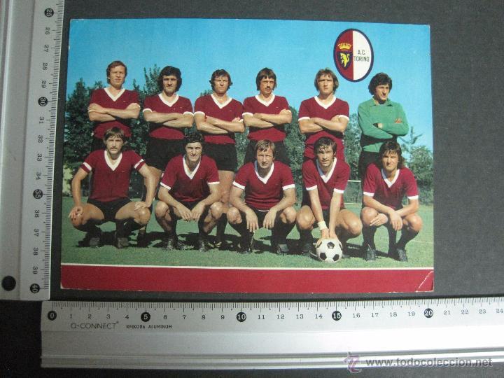Coleccionismo deportivo: TORINO - PLANTILLA -POSTAL GIGANTE - MIDE 15X 20 CM - (V-3357) - Foto 3 - 52483833