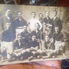 Coleccionismo deportivo: EXTRAORDINARIA POSTAL DE FOOT-BALL PRIMER EQUIPO JOAN GAMPER FUTBOL CLUB FC BARCELONA F.C BARÇA CF. Lote 52667010