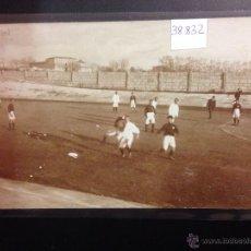 Coleccionismo deportivo: MAHON - MAO - PARTIDO DE FUTBOL - CAMPO - FOTOGRAFICA SELLO EN SECO P.STURLA - (38832). Lote 52848905