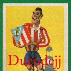 Coleccionismo deportivo: ANTIGUA TARJETA POSTAL: CLUB DE FÚTBOL ATLÉTICO DE MADRID - SIN CIRCULAR - LA QUE SE VE EN IMÁGENES. Lote 52859942